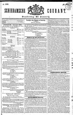 Schiedamsche Courant 1866-01-25