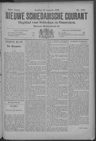 Nieuwe Schiedamsche Courant 1897-01-31
