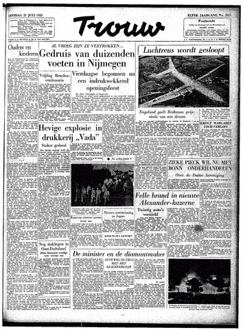 Trouw / De Rotterdammer 1953-07-21