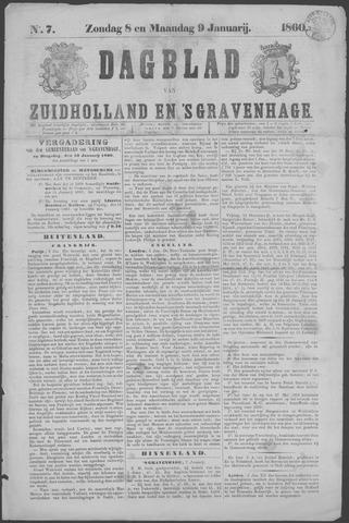Dagblad van Zuid-Holland 1860-01-08