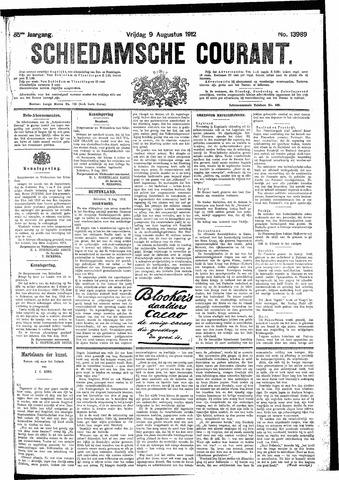 Schiedamsche Courant 1912-08-09
