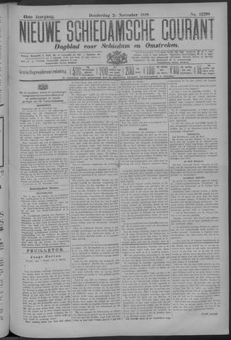Nieuwe Schiedamsche Courant 1918-11-21