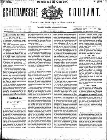 Schiedamsche Courant 1883-10-25