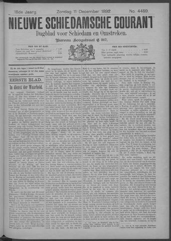 Nieuwe Schiedamsche Courant 1892-12-11