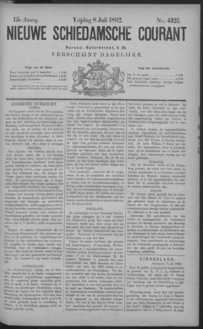 Nieuwe Schiedamsche Courant 1892-07-08