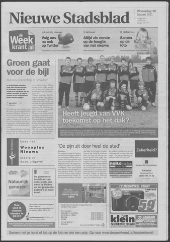 Het Nieuwe Stadsblad 2011-01-26