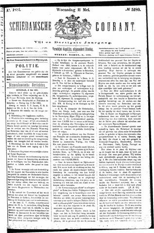 Schiedamsche Courant 1881-05-11