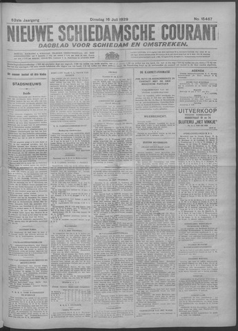 Nieuwe Schiedamsche Courant 1929-07-16