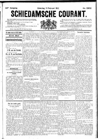 Schiedamsche Courant 1912-02-03