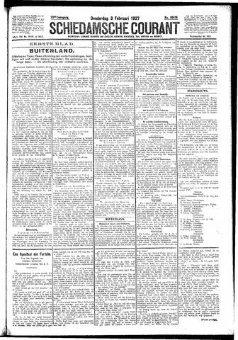 Schiedamsche Courant 1927-02-03