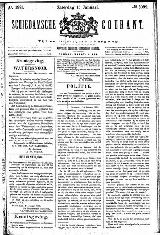 Schiedamsche Courant 1881-01-15