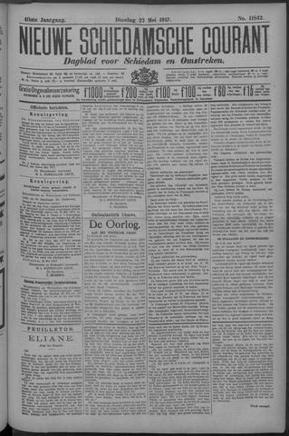 Nieuwe Schiedamsche Courant 1917-05-22