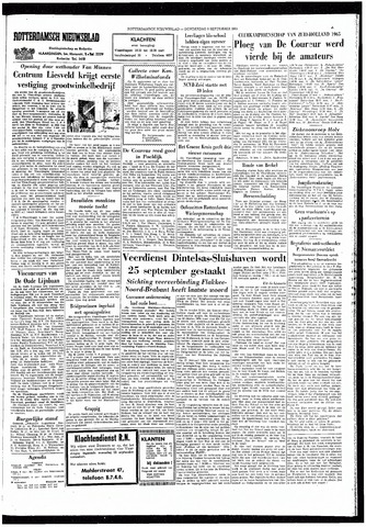 Rotterdamsch Nieuwsblad / Schiedamsche Courant / Rotterdams Dagblad / Waterweg / Algemeen Dagblad 1965-09-09