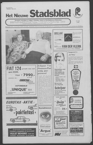 Het Nieuwe Stadsblad 1973-05-11
