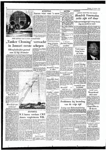 Rotterdamsch Parool / De Schiedammer 1955-10-11
