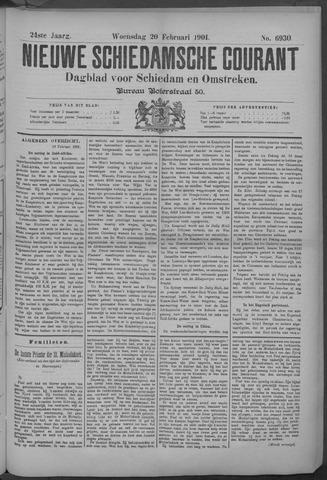 Nieuwe Schiedamsche Courant 1901-02-20