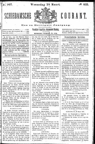 Schiedamsche Courant 1877-03-28