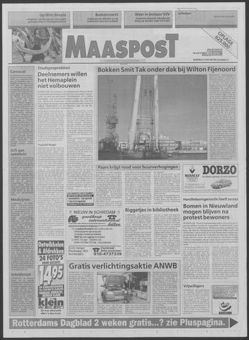 Maaspost / Maasstad / Maasstad Pers 1996-01-17