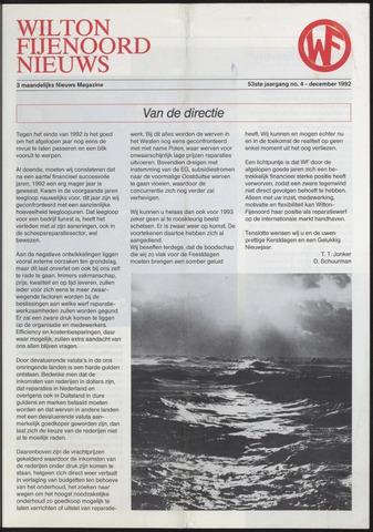 Wilton Fijenoord Nieuws 1992-04-01
