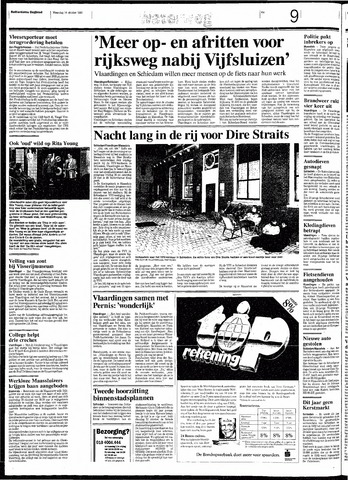 Rotterdamsch Nieuwsblad / Schiedamsche Courant / Rotterdams Dagblad / Waterweg / Algemeen Dagblad 1991-10-14