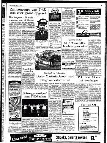 Rotterdamsch Parool / De Schiedammer 1961-10-16
