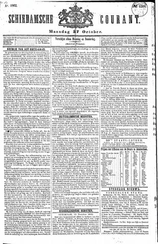 Schiedamsche Courant 1862-10-27