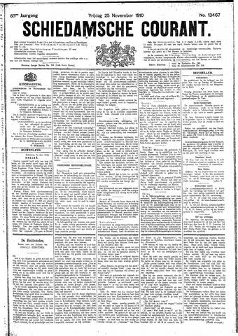 Schiedamsche Courant 1910-11-25