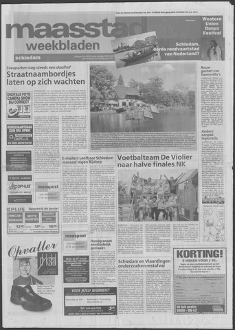 Maaspost / Maasstad / Maasstad Pers 2001-05-22