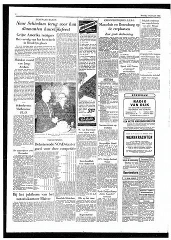Rotterdamsch Parool / De Schiedammer 1955-01-17
