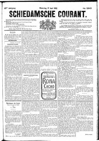 Schiedamsche Courant 1912-06-17