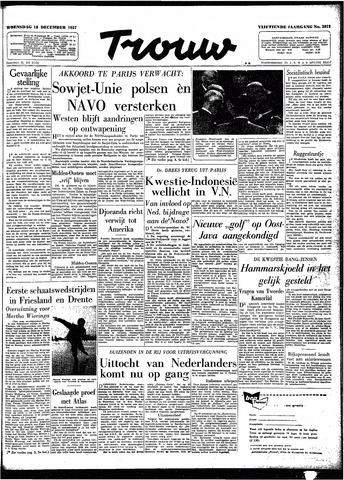 Trouw / De Rotterdammer 1957-12-18