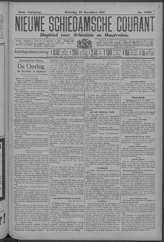 Nieuwe Schiedamsche Courant 1917-11-10
