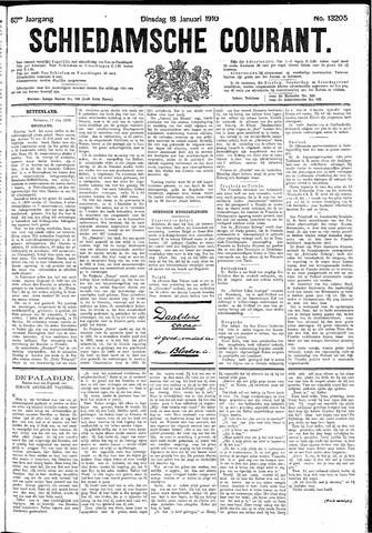 Schiedamsche Courant 1910-01-18