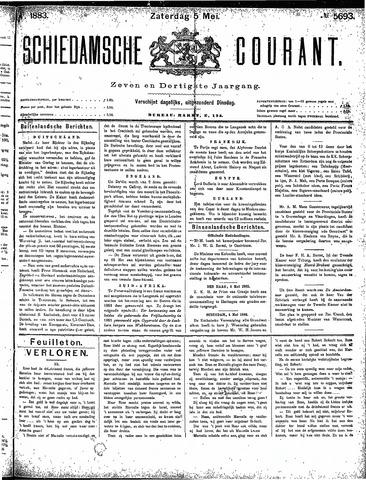Schiedamsche Courant 1883-05-05