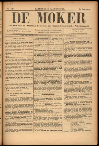 De Moker 1906-01-13