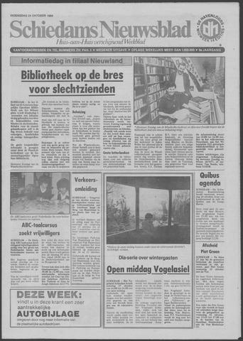 Schiedams Nieuwsblad 1984-10-24