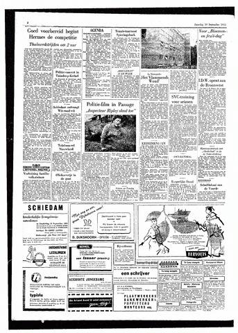 Rotterdamsch Parool / De Schiedammer 1955-09-10