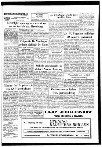 Rotterdamsch Nieuwsblad / Schiedamsche Courant / Rotterdams Dagblad / Waterweg / Algemeen Dagblad 1965-05-13