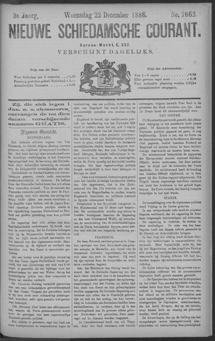 Nieuwe Schiedamsche Courant 1886-12-22