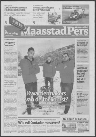 Maaspost / Maasstad / Maasstad Pers 2010-02-17