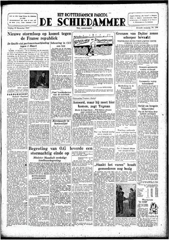 Rotterdamsch Parool / De Schiedammer 1947-12-19