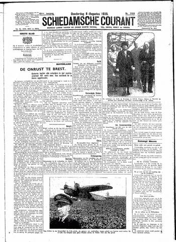 Schiedamsche Courant 1935-08-08