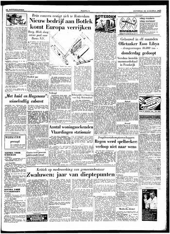 Trouw / De Rotterdammer 1962-08-18
