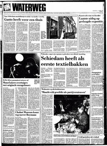 Rotterdamsch Nieuwsblad / Schiedamsche Courant / Rotterdams Dagblad / Waterweg / Algemeen Dagblad 1991-03-11