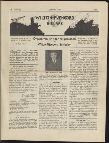 Wilton Fijenoord Nieuws 1939