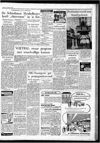 Rotterdamsch Parool / De Schiedammer 1957-10-11