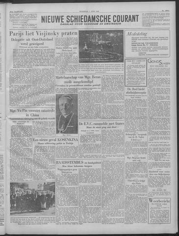 Nieuwe Schiedamsche Courant 1949-06-01