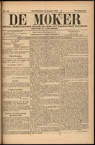 De Moker 1910-01-15