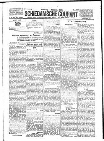 Schiedamsche Courant 1935-09-11