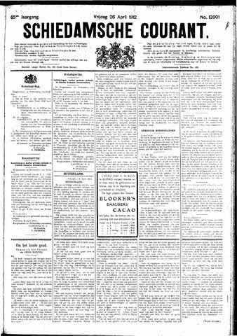 Schiedamsche Courant 1912-04-26